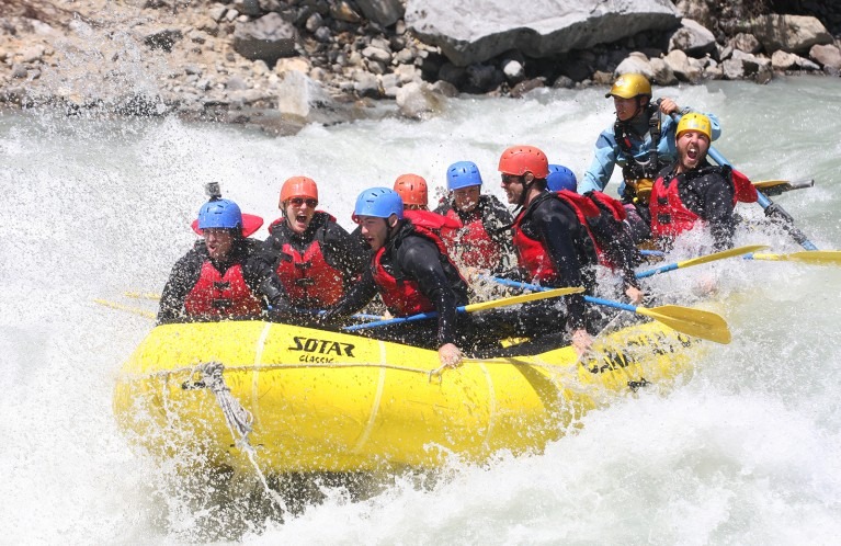 White Water Rafting in Whistler