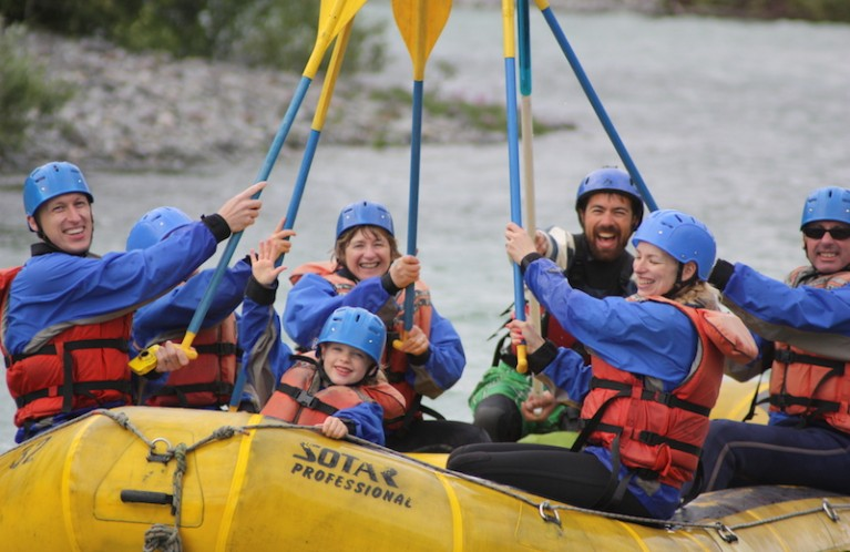 FAMILY RAFTING TRIPS IN WHISTLER